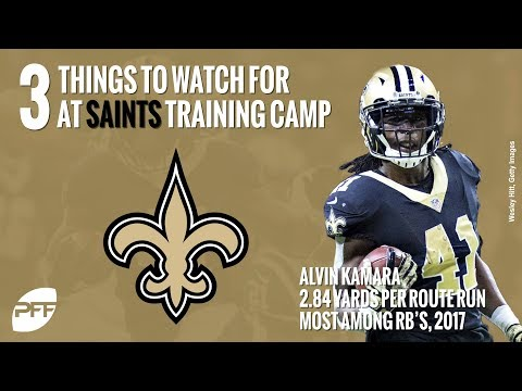 What to watch for at the Saints training camp | PFF