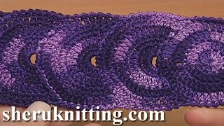 Crocheted Round Motif Lace  Tape Tutorial 31