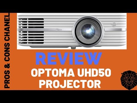 Optoma UHD50 True 4K Ultra High Definition DLP Home Theater Projector  Review