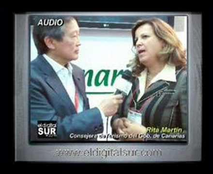 Promocion China Rita Martin Gobierno de Canarias