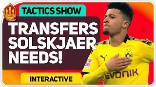 Transfers Solskjaer Needs! Man Utd Transfer News
