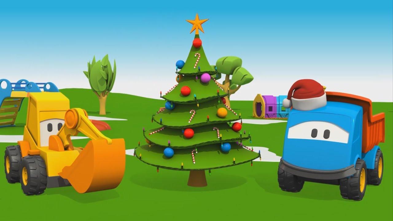 Cartoni animati per bambini leo il camion curioso e l albero di