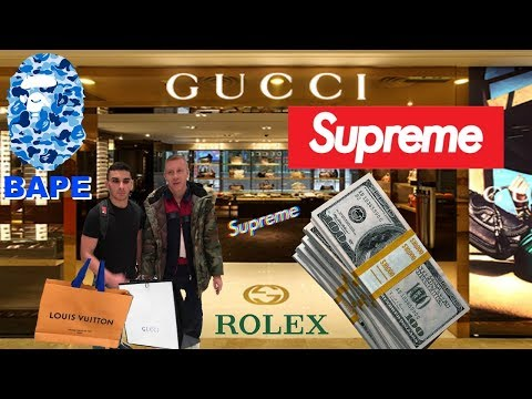 HYPEBEAST & DESIGNER SHOPPING WITH MACKLEMORE **$20,000** NEW YORK//PHILLY