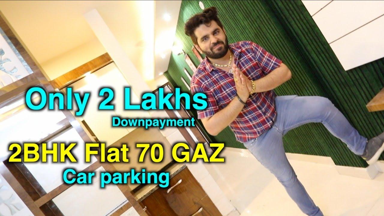 2bhk Semi Furnished Flat Builder floor Om Vihar Best Property With Car parking | Kamal Associates