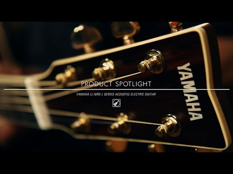 Product Spotlight Yamaha Ll16rd L Series Acoustic Electric Guitar