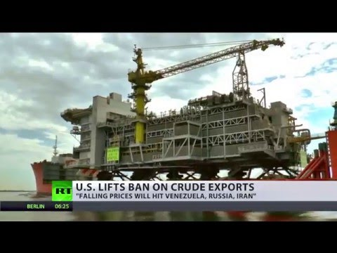 Economist and author Richard Wolff comments on U.S. exports of crude oil at RT International