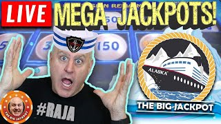 🔴LIVE Alaskan Cruise Wins! Exciting High Limit Slots at Sea 🎰 | The Big Jackpot