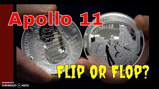 Apollo 11 US Mint Release: Flip or Flop? Let's take a look. Silver, Gold and Clad.