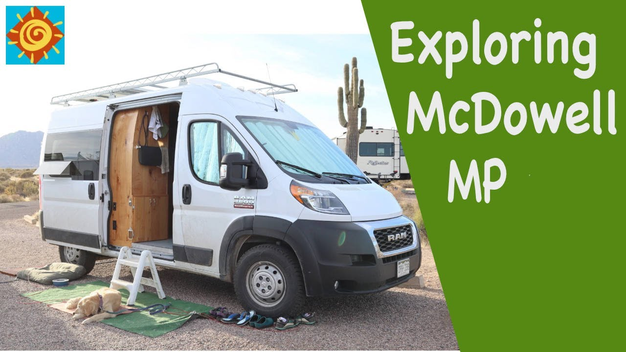 Download Exploring McDowell Mountain Park//EP 13 Seeking the Winter Sun in our Converted ProMaster Van 136