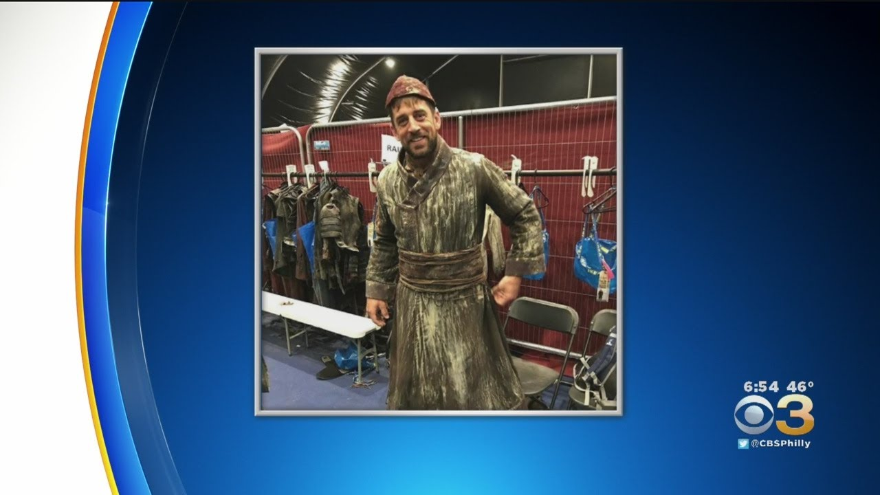 """Green Bay Packers quarterback Aaron Rodgers makes cameo on """"Game of Thrones"""""""