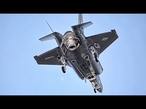 F-35B Fighter Jet Training Flight • Vertical Landing