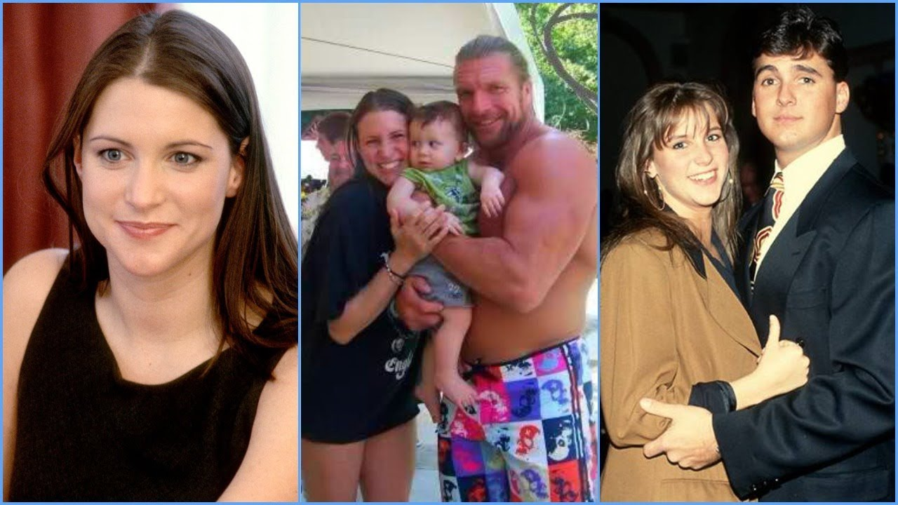 stephanie mcmahon rare photos childhood wedding
