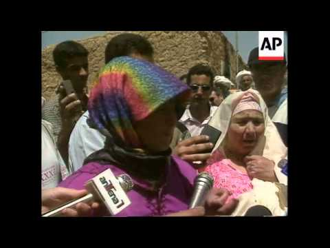 Algeria - UN team tours massacre villages