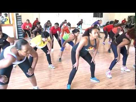 Rumba/Zumba classes at Impala Sports Club - Kenya