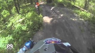 Jordan Bailey - 2014 FTR Gatorback Hare Scramble GoPro