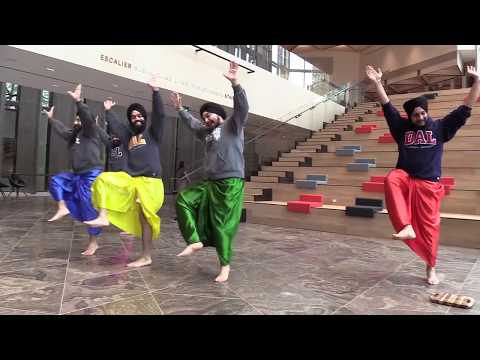 The Maritime Bhangra Group at the NAC / Le Maritime Bhangra Group au CNA