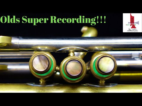 1946 Olds Super Recording Trumpet for sale at Austin Custom Brass