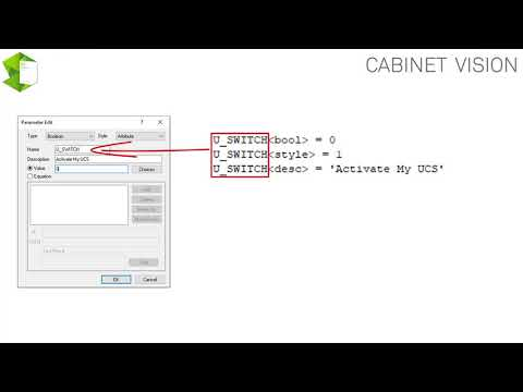 CABINET VISION Tutorial (Expert- 14) - General Introduction to User Created Standards