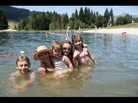 Lac de baignade des Ecoles - Les Gets