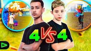 BRIGA DE GIGANTES! AMASSEI O LOUD THURZIN NO 4VS4! FREE FIRE