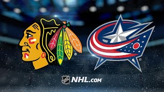 Anderson, Blue Jackets defeat Blackhawks, 3-2