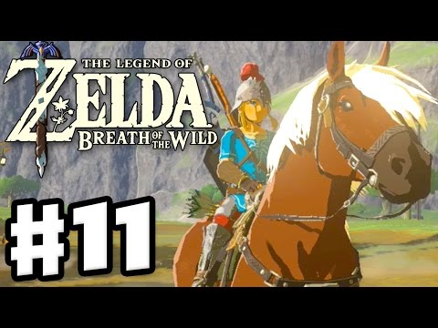 Epona and Amiibos! - The Legend of Zelda: Breath of the Wild - Gameplay Part 11