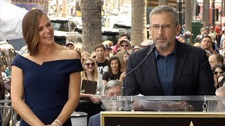 Steve Carell Speech at Jennifer Garner's Hollywood Walk of Fame Star Unveiling