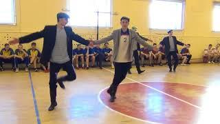 Шуточный танец курсантов Кирсановского АТК