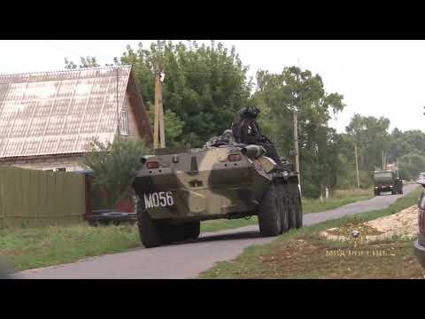 Под Курском застрелен полицейский, подозреваемый в убийстве задержан (видео)