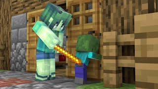 Monster School : Good Baby Zombie Boy - Emotion Story - Minecraft Animation