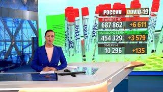 В России коронавирус за сутки побороли 3579 человек