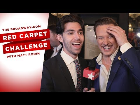 RED CARPET CHALLENGE: KISS ME, KATE with Will Chase, Kelli O'Hara, Stephanie Styles and More