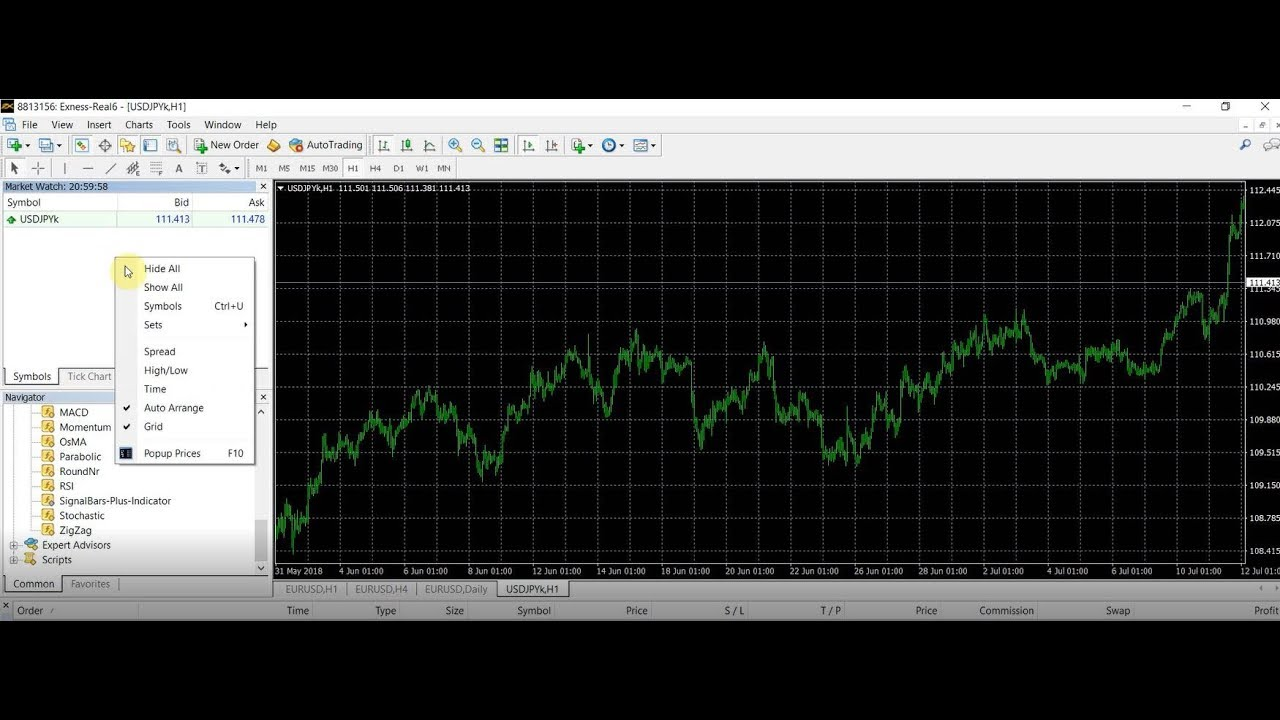 How To Show All Available Currency Pairs In Mt4 Metatrader Mt4