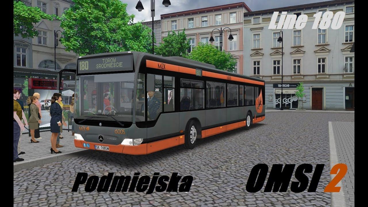 OMSI 2  Map Podmiejska, Line 180, Mercedes-Benz O530 Facelift  Part 1 by  Bushmakin's Channel