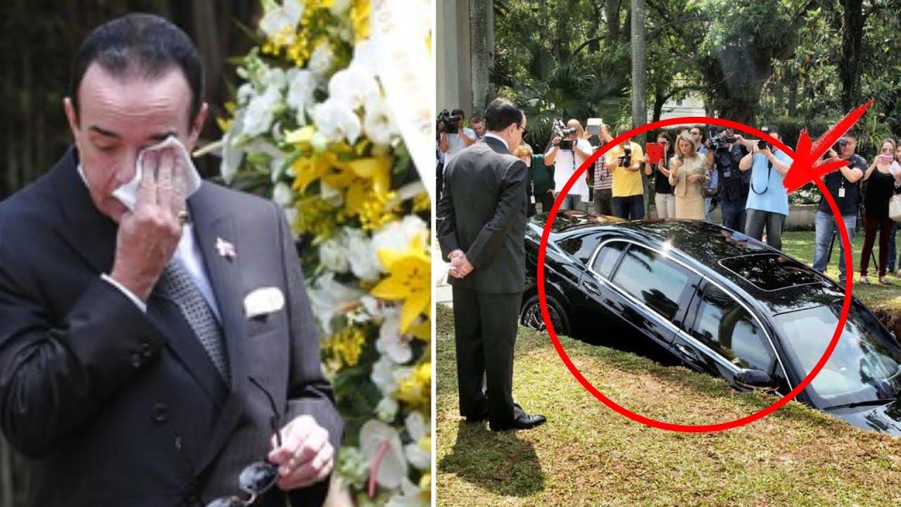 Ha organizzato il funerale per la sua macchina, nessuno ha capito il perché!!