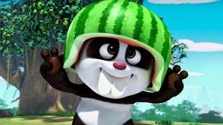 Кротик и Панда - Большой арбуз - серия 13 - развивающий мультфильм для детей