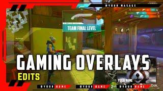 Overlays for Gaming [MKP Edits] | Pixellab edits