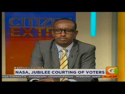 Citizen Extra: NASA,Jubilee courting of voters