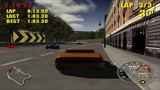 Supercar Street Challenge PS2 Gameplay HD (PCSX2)