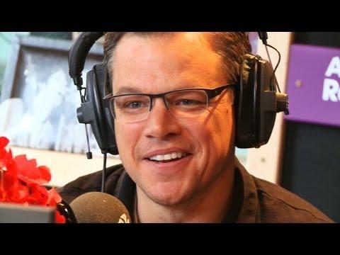 """Matt Damon: """"I get mistaken for Mark Wahlberg!"""""""