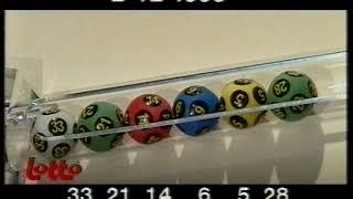 BRTN TV1: continuity: Lotto/Joker, PMU & avondoverzicht (2 december 1995)