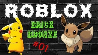 Pokemon Brick Bronze-Roblox #01-working out the alarm clock