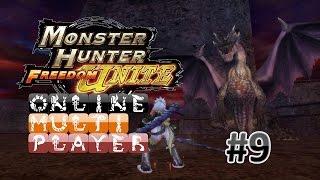 Monster Hunter Freedom Unite Online MP #9 | Shen Gaoren [Low Rank]