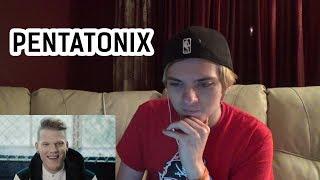 Pentatonix - Cheerleader (OMI COVER) REACTION