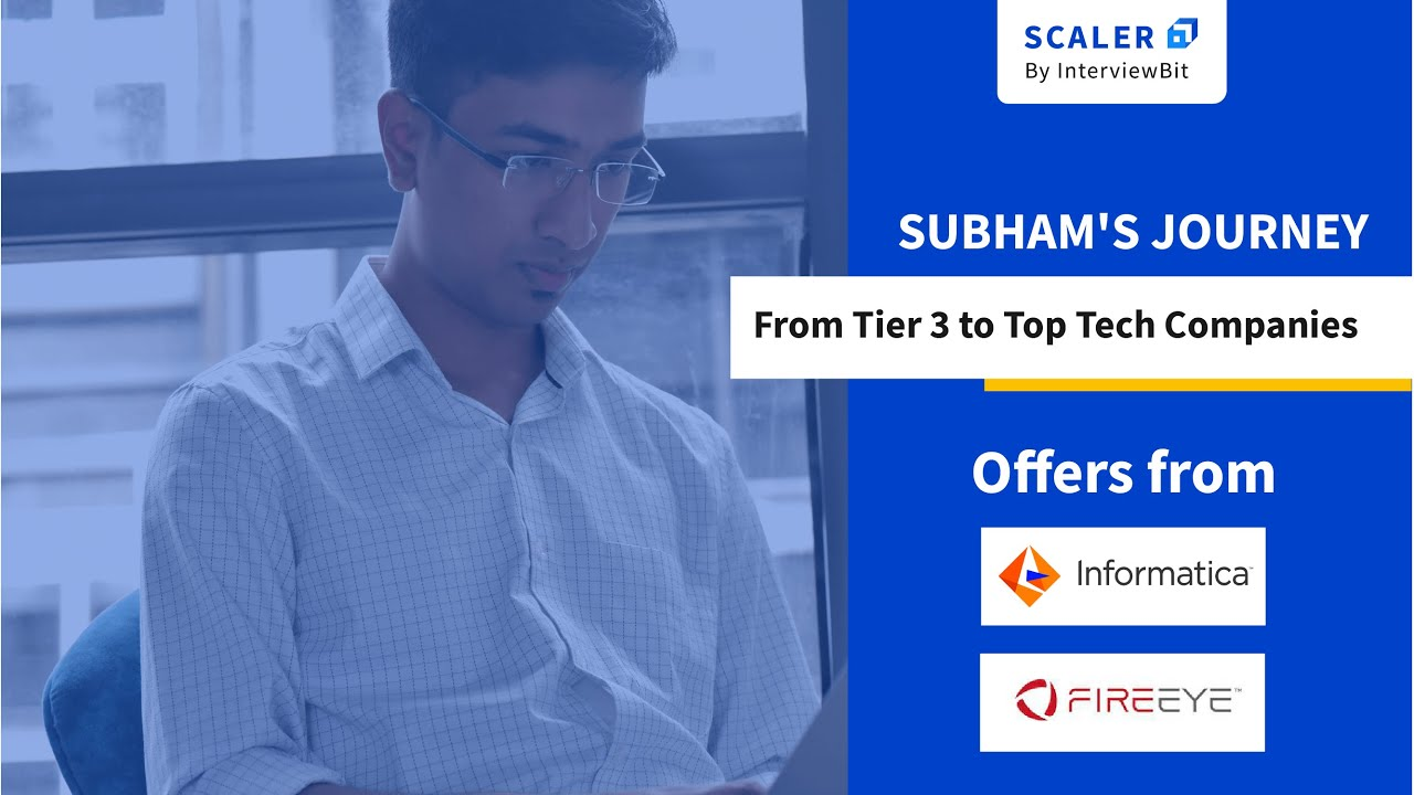 Subham Mallick, Scaler Academy alumnus, on his journey from LPU to the top product companies