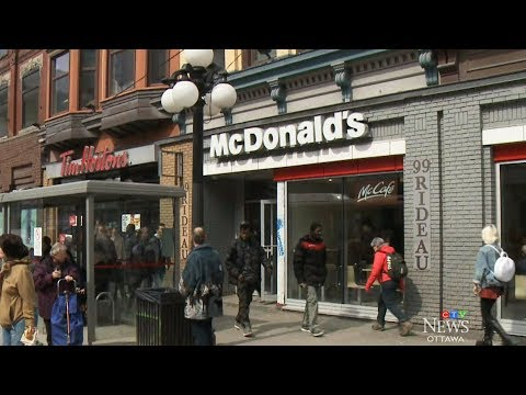 Downtown Ottawa McDonald's will now close early after years of crime, complaints
