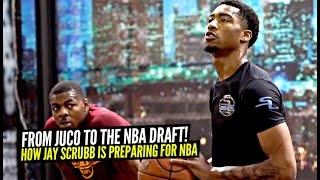 #1 Juco Player & Projected NBA Draft Pick Jay Scrubb Exclusive Workout!!
