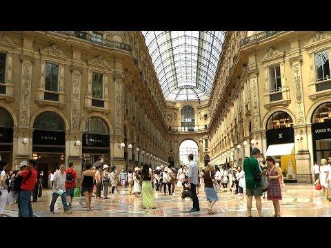 Italien, Mailand (Italy, City Milano) HD 1080P