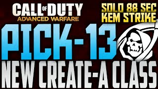 Call of Duty: Advanced Warfare PICK 13 SYSTÈME? NOUVEAU COD: AW DE CRÉER UN SYSTÈME DE CLASSE