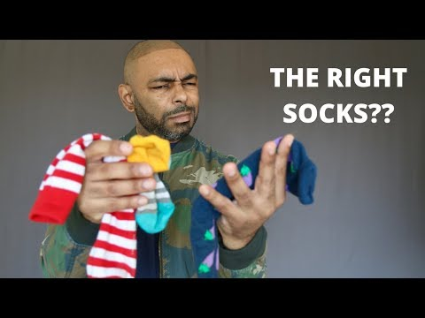 Men's Socks Rules/How To Wear Socks